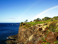 Hole 12, The Challenge golf course at Manele, Lanai, Jack Nicklaus design