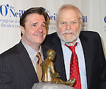 Nathan Lane and Brian Dennehy attend The Eugene O'Neill Theatre Center's 15th Annual Monte Cristo Award honoring Nathan Lane at The Edison Ballroom on April 13, 2015 in New York City.