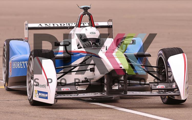 Berlin, 23.05.2015, Motorsport, FIA Formel E Championship, Formel E DHL Berlin ePrix, 8. Rennen : Scott Speed (Andretti Formula E, #28)<br /> <br /> Foto &copy; P-I-X.org *** Foto ist honorarpflichtig! *** Auf Anfrage in hoeherer Qualitaet/Aufloesung. Belegexemplar erbeten. Veroeffentlichung ausschliesslich fuer journalistisch-publizistische Zwecke. For editorial use only.