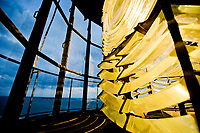 This First-Order Fresnel lens has shown from the top of the Pensacola Lighthouse since 1869.<br /> <br /> <br /> COLIN HACKLEY PHOTO