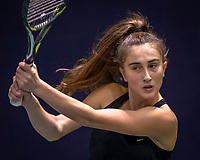 Hilversum, Netherlands, December 2, 2018, Winter Youth Circuit Masters, Charlotte Haas (NED)<br /> Photo: Tennisimages/Henk Koster