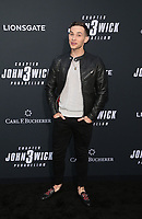 "HOLLYWOOD, CALIFORNIA - MAY 15: Adam Rippon, attends the special screening of Lionsgate's ""John Wick: Chapter 3 - Parabellum"" at TCL Chinese Theatre on May 15, 2019 in Hollywood, California, USA.    <br /> CAP/MPI/FS<br /> ©FS/MPI/Capital Pictures"