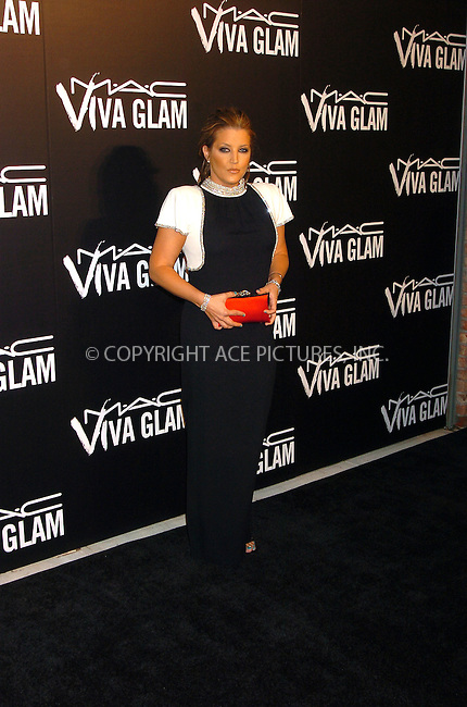 WWW.ACEPIXS.COM . . . . .  ....September 6, 2006, New York City. ....Lisa Marie Presley arrives at the M.A.C. Aids Fund Announces New Viva Glam VI Campaign Dinner held at Cedar Lake. ....Please byline: AJ Sokalner - ACEPIXS.COM..... *** ***..Ace Pictures, Inc:  ..(212) 243-8787 or (646) 769 0430..e-mail: info@acepixs.com..web: http://www.acepixs.com