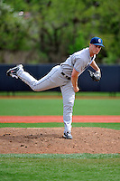 Connecticut Huskies pitcher Dan Feehan (22) during game against Rutgers Scarlet Knights at Bainton Field in Piscataway, New Jersey;  May 01, 2011.  Connecticut defeated Rutgers 6-2.  Photo By Tomasso DeRosa/Four Seam Images