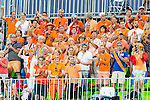 Netherlands fans during Netherlands vs Korea in a Pool A game at the Rio 2016 Olympics at the Olympic Hockey Centre in Rio de Janeiro, Brazil.