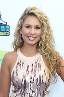 SANTA MONICA, CA - AUGUST 19: Haley Reinhart at the 2012 Do Something Awards at Barker Hangar on August 19, 2012 in Santa Monica, California. Credit: mpi21/MediaPunch Inc. /NortePhoto.com<br />