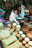 Luang Prabang Morning Market is a large collection of outdoor stalls selling pretty much everything from sunrise till noon.
