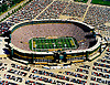 Aerial view of Lambeau Field, Home of the Green Bay Packers Football team