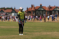 Pornanong Phatlum (THA) on the 2nd fairway during Round 4 of the Ricoh Women's British Open at Royal Lytham &amp; St. Annes on Sunday 5th August 2018.<br /> Picture:  Thos Caffrey / Golffile<br /> <br /> All photo usage must carry mandatory copyright credit (&copy; Golffile | Thos Caffrey)