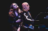 LOS ANGELES, CA - FEBRUARY 7: Evan Rachel Wood and Mike Garson at A Bowie Celebration at the Orpheum Theatre in Los Angeles, California on January 13, 2019. <br /> CAP/MPI/SR<br /> ©SR/MPI/Capital Pictures