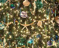 Christmas tree decorated. Providence Festival of Trees. Portland. Oregon