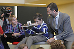 Prince Felipe of Spain attends the inauguration of 'Casa del Lector' on October 17, 2012 in Madrid, Spain..(ALTERPHOTOS/Acero)
