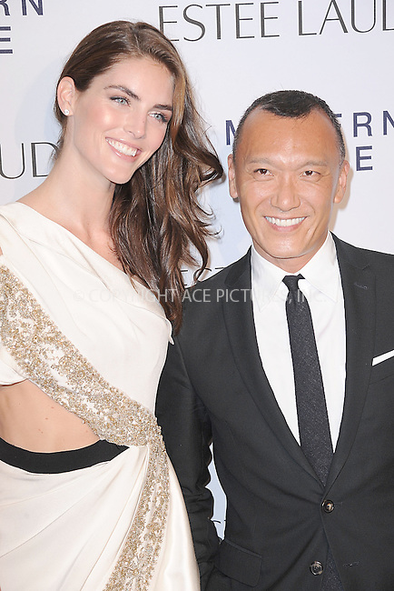 WWW.ACEPIXS.COM<br /> September 12, 2013...New York City<br /> <br /> Hilary Rhoda and Joe Zee attending the Estee Lauder 'Modern Muse' Fragrance Launch Party at the Guggenheim Museum on September 12, 2013 in New York City.<br /> <br /> Please byline: Kristin Callahan/Ace Pictures<br /> <br /> Ace Pictures, Inc: ..tel: (212) 243 8787 or (646) 769 0430..e-mail: info@acepixs.com..web: http://www.acepixs.com