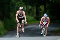 06 JUL 2008 - WAKEFIELD, UK - Thomas Perchard - British Age Group Triathlon Championships. (PHOTO (C) NIGEL FARROW)