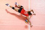 25.08.2018, …VB Arena, Bremen<br />Volleyball, LŠnderspiel / Laenderspiel, Deutschland vs. Niederlande<br /><br />Abwehr Ivana Vanjak (#21 GER)<br /><br />  Foto &copy; nordphoto / Kurth