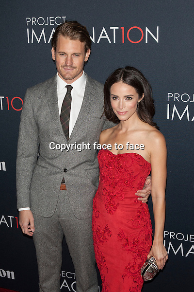 NEW YORK, NY - OCTOBER 24, 2013: Josh Pence and Abigail Spencer attend the Premiere Of Canon's Project Imaginat10n Film Festival at Alice Tully Hall on October 24, 2013 in New York City. <br />