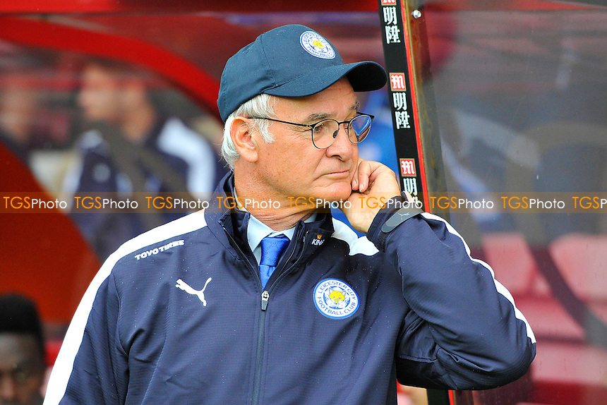 Leicester City Manager Claudio Ranieri during AFC Bournemouth vs Leicester City