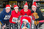 Colm O'Dwyer, Emer Clifford, Cara McDonald, Finn McDonald, Siobhain Reilly and Bruno at the Christmas in Killarney 5k on Sunday
