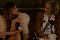 Hotel Artemis (2018) <br /> Sofia Boutella &amp; Jodie Foster<br /> *Filmstill - Editorial Use Only*<br /> CAP/MFS<br /> Image supplied by Capital Pictures