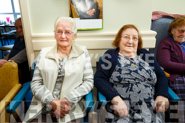 Enjoying the Castleisland Day Care Centre. Social event for the community on Sunday were Pat Currans and  Hannah Hickey