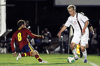 Spain's Koke and Norway's Nielsen during an International sub21 match. March 21, 2013.(ALTERPHOTOS/Alconada) /NortePhoto
