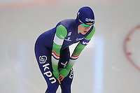 SPEED SKATING: INZELL: 06-12-2015, Max Aicher Arena, ISU World Cup, 500m Ladies, B-division, Letitia de Jong (NED), ©foto Martin de Jong