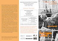 Printemps de Paris / Maiosn d'Europe et d'Orient (French festival about Eastern Europe)..2006/05..Romania.Photo: Andrei Pandele
