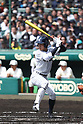 Hayato Nishiura (),<br /> MARCH 24, 2017 - Baseball :<br /> 89th National High School Baseball Invitational Tournament first round game between Waseda Jitsugyo 5-4 Meitoku Gijuku at Koshien Stadium in Hyogo, Japan. (Photo by BFP/AFLO)
