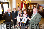 Launch of Tralee Rotary club Annual Gala ball in aid of Recovery Haven at Ballyseede Castle Hotel on Friday 4th December 2015 starts at 7.30pm. Pictured Graham Borley George Philip, Meg Healy, Alison Boardman, Vice President,  Richard Bono,  President Tralee Rotary Club