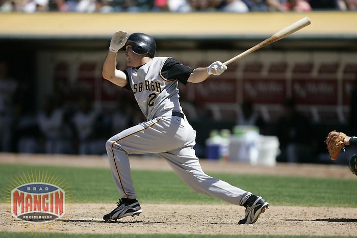 Jack Wilson. Baseball: Pittsburgh Pirates vs Oakland Athletics. Oakland, CA 6/12/2004 MANDATORY CREDIT: Brad Mangin