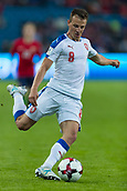 June 10th 2017, Ullevaal Stadion, Oslo, Norway; World Cup 2018 Qualifying football, Norway versus Czech Republic;  Vladimir Darida of Czech Republic in action during the FIFA World Cup qualifying match