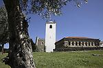 Santa Maria Church with Domus Municipalis, Cidadela, Braganca, Tras os Montes Oriental, Portugal