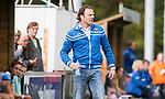 AMSTELVEEN - coach Jorge Nolte (Hurley)  Hoofdklasse competitie dames, Hurley-HDM (2-0) . FOTO KOEN SUYK