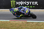 June 9th 2017, Barcelona Circuit, Montmelo, Catalunya, Spain; MotoGP Grand Prix of Catalunya, Free practice day; Valentino Rossi (Movistar Yamaha) during the free practice sessions