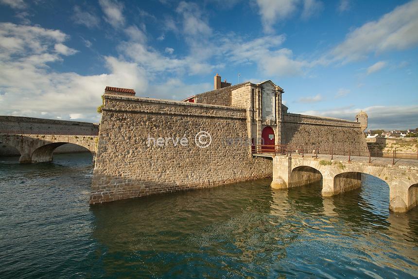 France, Morbihan (56), Port-Louis, citadelle de Port-Louis // France, Morbihan, Port Louis, citadel of Port Louis