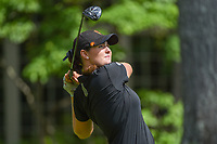 Olivia Mahaffey (a)(NIR) watches her tee shot on 14 during round 2 of the U.S. Women's Open Championship, Shoal Creek Country Club, at Birmingham, Alabama, USA. 6/1/2018.<br /> Picture: Golffile | Ken Murray<br /> <br /> All photo usage must carry mandatory copyright credit (&copy; Golffile | Ken Murray)