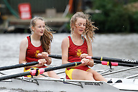 W.J13A.2x  Semi  (68) City of Bristol RC vs (69) Liverpool Victoria<br /> <br /> Saturday - Gloucester Regatta 2016<br /> <br /> To purchase this photo, or to see pricing information for Prints and Downloads, click the blue 'Add to Cart' button at the top-right of the page.