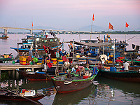 Hoi An fish port and Harbor, Vietnam