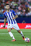 Deportivo Alaves's Edgar Mendez during the match of La Liga Santander between Atletico de Madrid and Deportivo Alaves at Vicente Calderon Stadium. August 21, 2016. (ALTERPHOTOS/Rodrigo Jimenez)