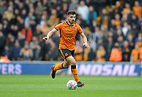 Wolverhampton Wanderers' Ruben Neves<br /> <br /> Photographer Ashley Crowden/CameraSport<br /> <br /> The EFL Sky Bet Championship - Wolverhampton Wanderers v Birmingham City - Sunday 15th April 2018 - Molineux - Wolverhampton<br /> <br /> World Copyright &copy; 2018 CameraSport. All rights reserved. 43 Linden Ave. Countesthorpe. Leicester. England. LE8 5PG - Tel: +44 (0) 116 277 4147 - admin@camerasport.com - www.camerasport.com