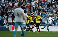 George Thomas (27) of Coventry City scores the second goal during the The Checkatrade Trophy / EFL Trophy FINAL match between Oxford United and Coventry City at Wembley Stadium, London, England on 2 April 2017. Photo by Andy Rowland.