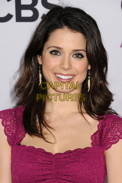 Ali Cobrin.People's Choice Awards 2013 - Arrivals held at Nokia Theatre L.A. Live, Los Angeles, California, USA..January 9th, 2013.headshot portrait pink lace top  .CAP/ADM/BP.©Byron Purvis/AdMedia/Capital Pictures.
