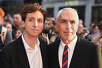 LONDON, UK. October 13, 2018: Nic Sheff &amp; David Sheff at the London Film Festival screening of &quot;Beautiful Boy&quot; at the Cineworld Leicester Square, London.<br /> Picture: Steve Vas/Featureflash