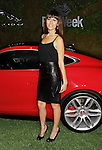 WEST HOLLYWOOD, CA- MAY 02: Actress Sabina Akhmedova attends the Jaguar North America and BritWeek present a Villainous Affair held at The London on May 2, 2014 in West Hollywood, California.