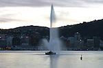 Oriental Bay fountain. Wellington scenes. Photo: Marc Weakley