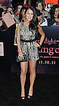 Alexa Vega at the Twilight Breaking Dawn Part 1 Premiere held at the Nokia Theatre in Los  Angeles, Ca. November 14, 2011
