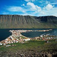 Ísafjörður - afmælissumarið 1966.Isafjordur celebrating aniversary 1966
