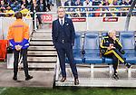 Solna 2015-09-08 Fotboll EM-kval , Sverige - &Ouml;sterrike :  <br /> Sveriges f&ouml;rbundskapten head coach Erik Hamr&eacute;n Hamren inf&ouml;r matchen mellan Sverige och &Ouml;sterrike <br /> (Photo: Kenta J&ouml;nsson) Keywords:  Sweden Sverige Solna Stockholm Friends Arena EM Kval EM-kval UEFA Euro European 2016 Qualifying Group Grupp G &Ouml;sterrike Austria portr&auml;tt portrait tr&auml;nare manager coach