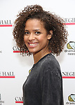 Gugu Mbatha-Raw attends The Children's Monologues at Carnegie Hall on November 13, 2017 in New York City.