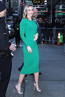 NEW YORK, NY - December 17:  Emily Blunt seen arriving at Good Morning America on promotion for Mary Poppins Returns on December 17, 2018 in New York City. Credit: RW/MediaPunch